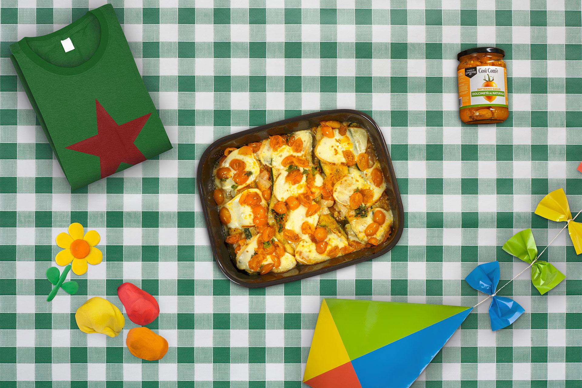 La mia vita da zucchina: Zucchine Gratinate con provola e Dolcimetà di Datterino Giallo