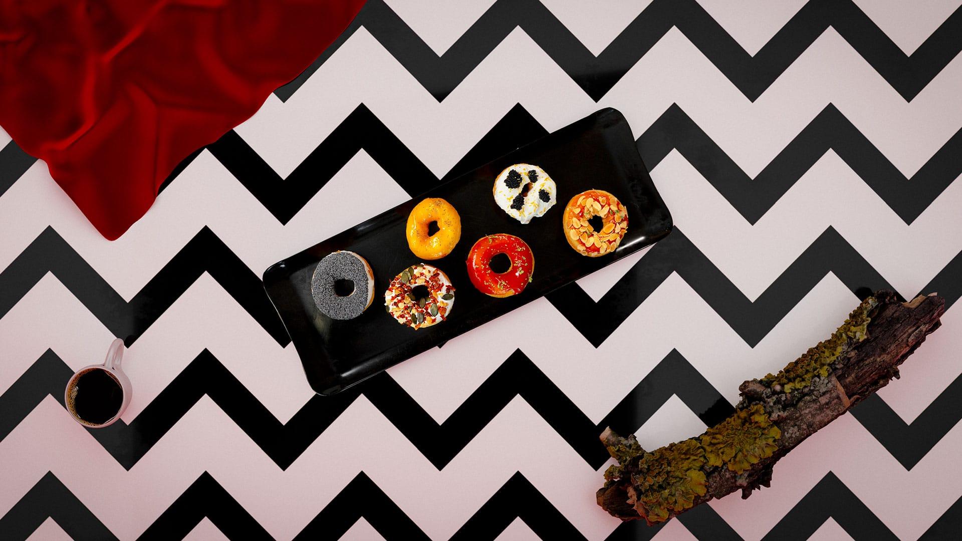 Twin Peaks: Donuts Salati con le Salse Così Com'è con lo chef Antonio Sorrentino